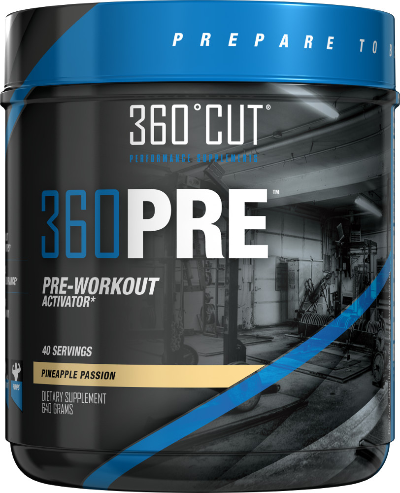 360Cut 360PRE - 40 Servings Pineapple Passion