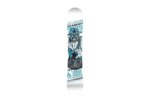 Academy Snowboards Team Snowboard 149cm - team blue/white, 149cm