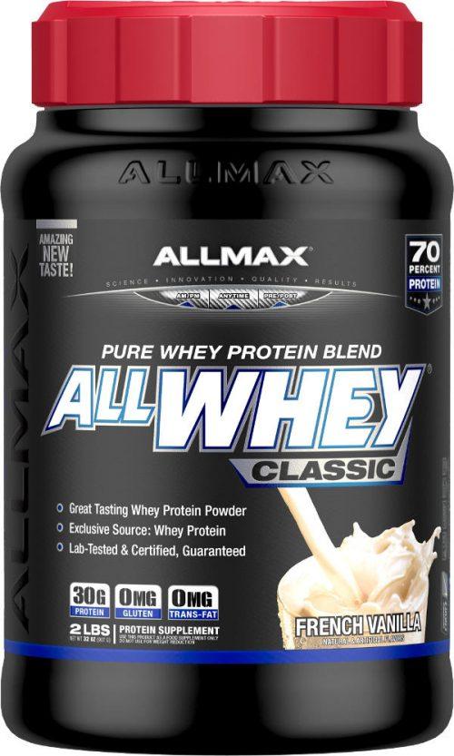 AllMax Nutrition AllWhey Classic - 2lbs French Vanilla