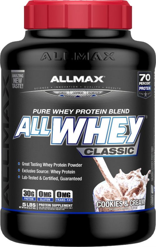 AllMax Nutrition AllWhey Classic - 5lbs Cookies & Cream