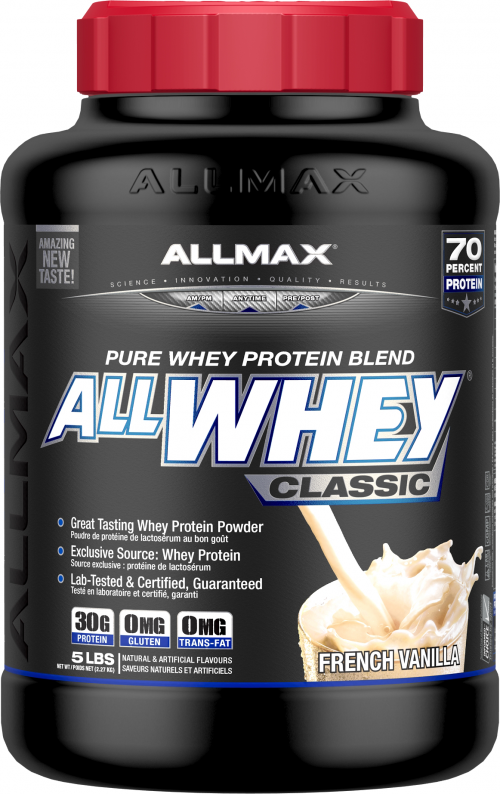 AllMax Nutrition AllWhey Classic - 5lbs Unflavored