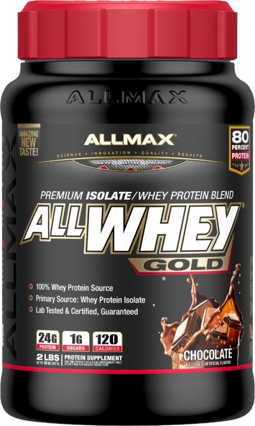 AllMax Nutrition AllWhey Gold - 2lbs Chocolate