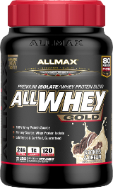 AllMax Nutrition AllWhey Gold - 2lbs Cinnamon French Toast