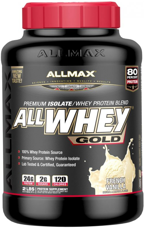AllMax Nutrition AllWhey Gold - 2lbs Vanilla
