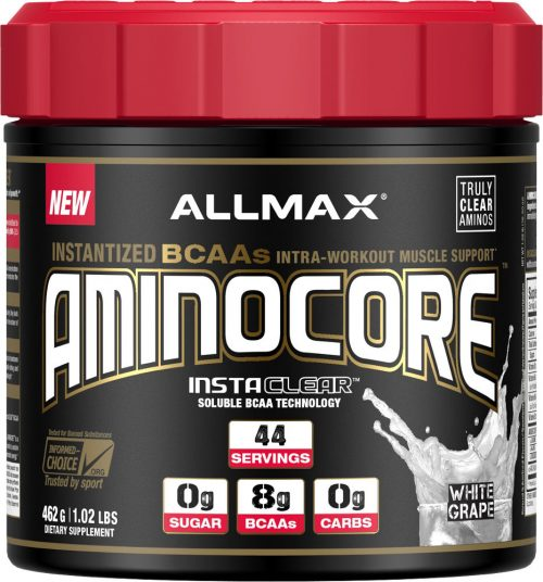 AllMax Nutrition AminoCore - 44 Servings White Grape