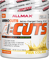 AllMax Nutrition AminoCuts - 30 Servings Blue Raspberry