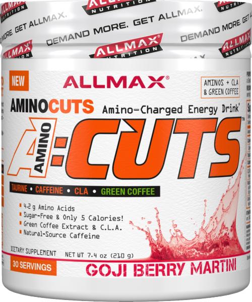 AllMax Nutrition AminoCuts - 30 Servings Goji Berry