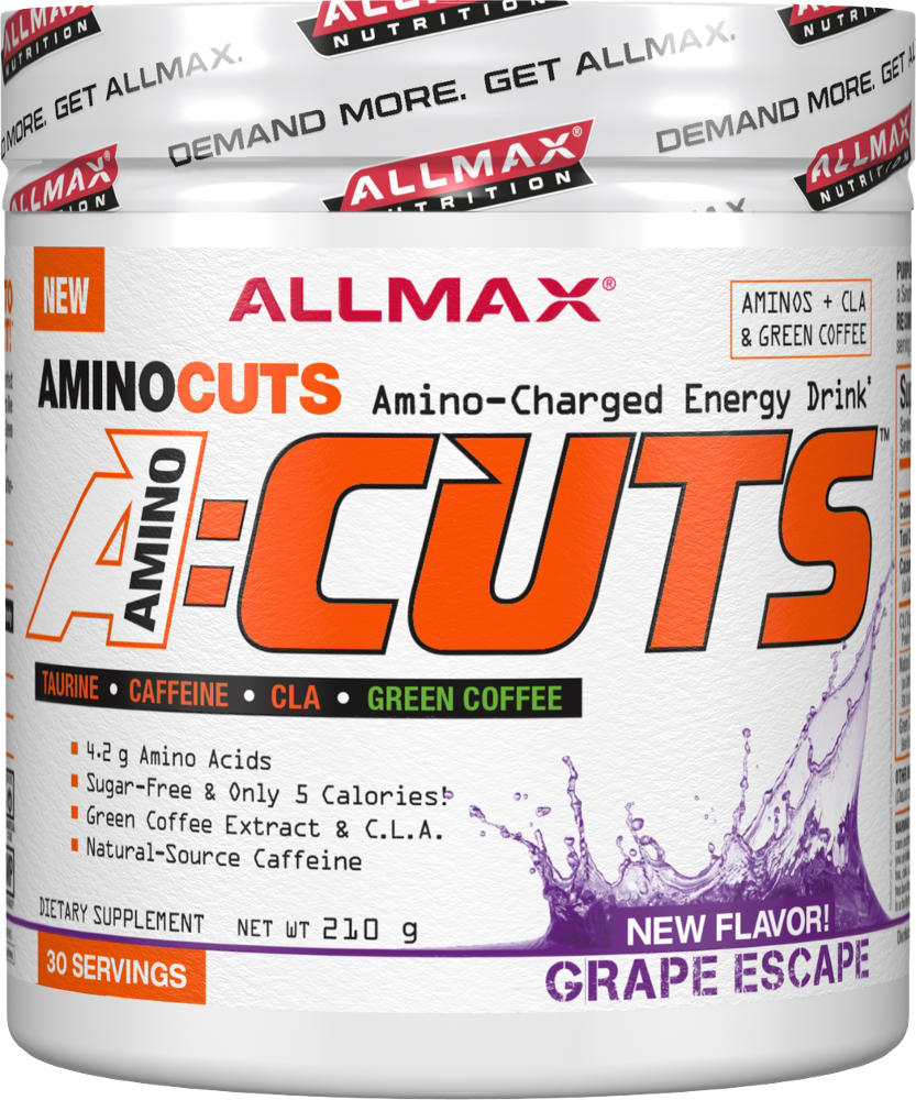 AllMax Nutrition AminoCuts - 30 Servings Grape Escape