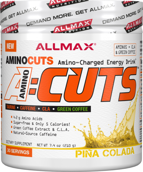AllMax Nutrition AminoCuts - 30 Servings Pina Colada