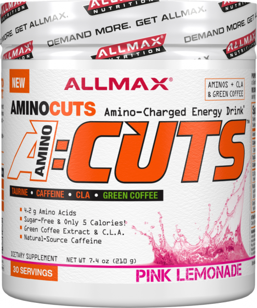 AllMax Nutrition AminoCuts - 30 Servings Pink Lemonade
