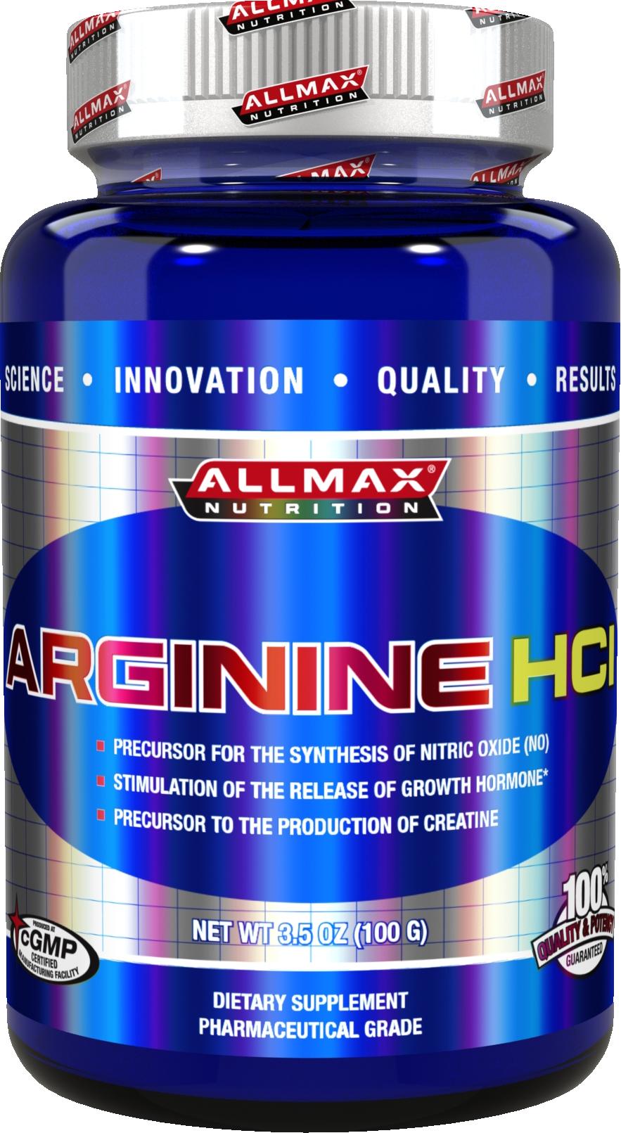 AllMax Nutrition Arginine - 100g