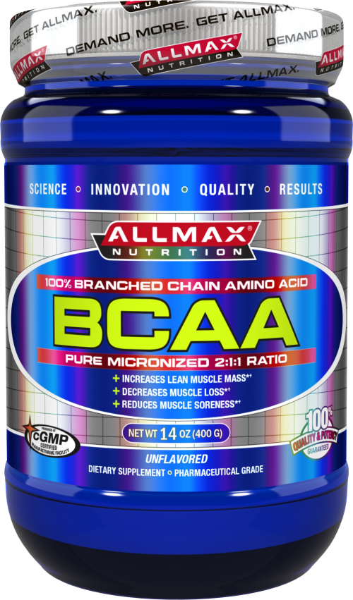 AllMax Nutrition BCAA 2:1:1 - 80 Servings