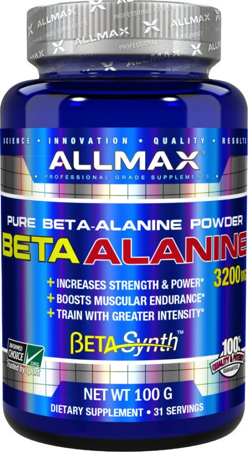 AllMax Nutrition Beta-Alanine - 100g