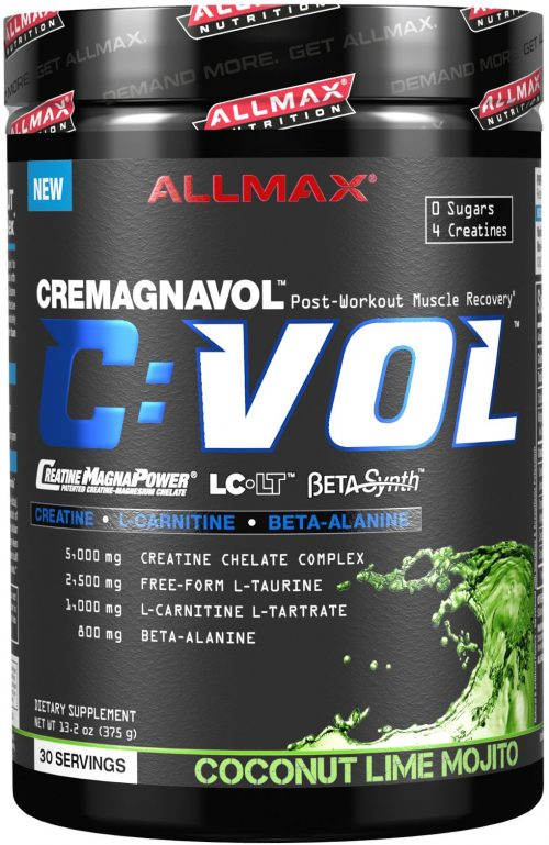 AllMax Nutrition C:VOL - 30 Servings Coconut Lime Mojito