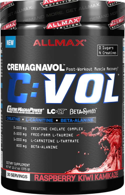 AllMax Nutrition C:VOL - 30 Servings Raspberry Kiwi