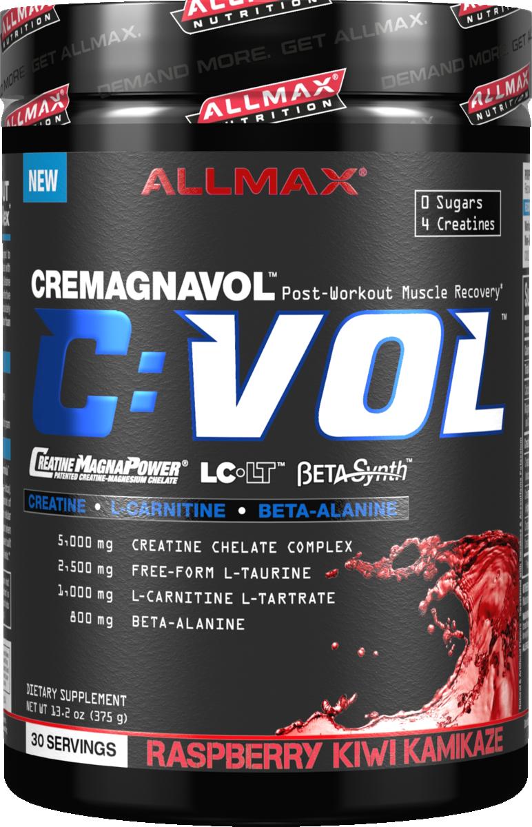 AllMax Nutrition C:VOL - 30 Servings Raspberry Kiwi