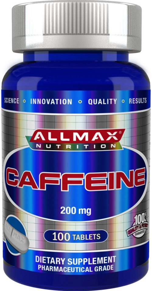 AllMax Nutrition Caffeine - 100 Tablets