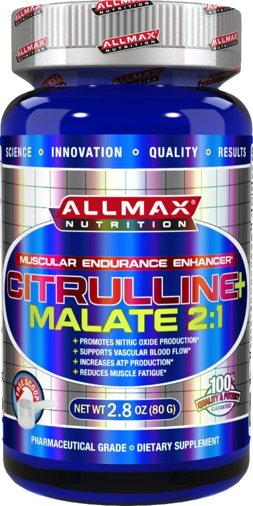 AllMax Nutrition Citrulline Malate 2:1 - 40 Servings Unflavored