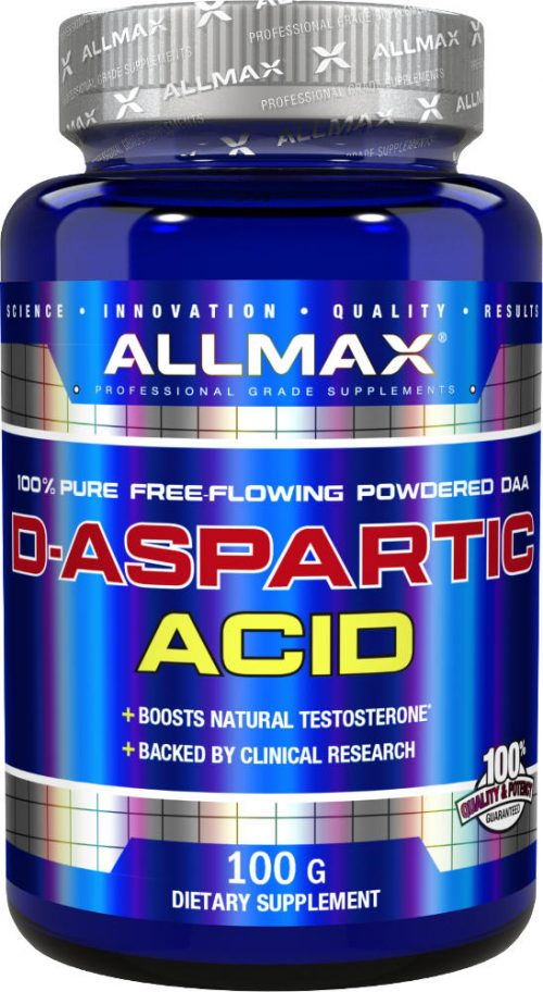 AllMax Nutrition D-Aspartic Acid - 100g Unflavored