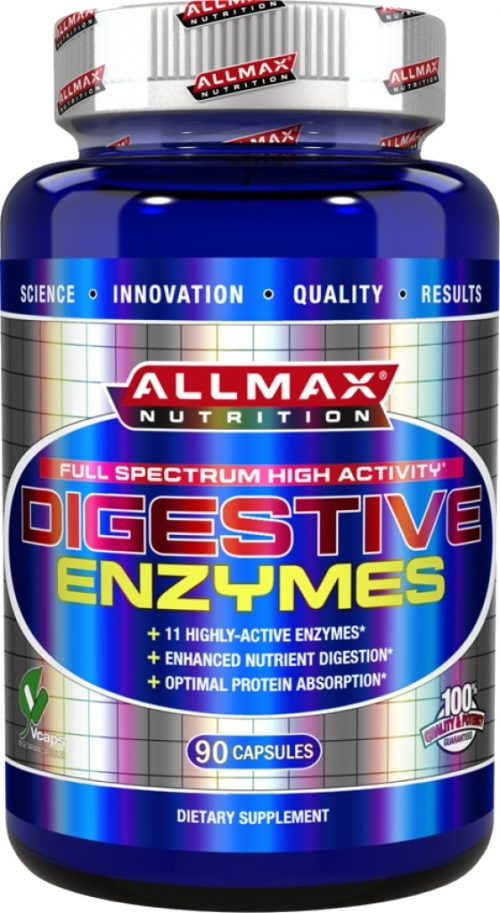 AllMax Nutrition Digestive Enzymes - 90 Capsules