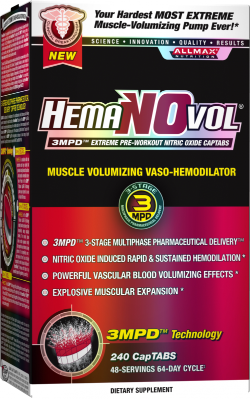 AllMax Nutrition HemaNOvol - 240 CapTABs