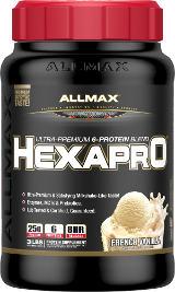 AllMax Nutrition HexaPro - 3lbs French Vanilla