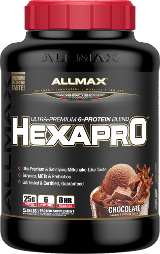 AllMax Nutrition HexaPro - 5.5lbs Chocolate
