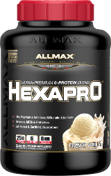 AllMax Nutrition HexaPro - 5.5lbs French Vanilla