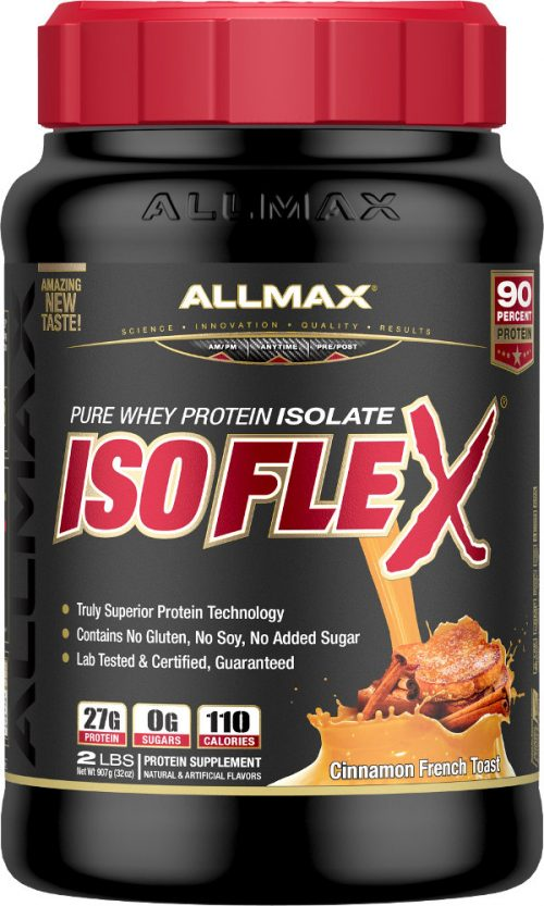 AllMax Nutrition IsoFlex - 2lbs Cinnamon French Toast