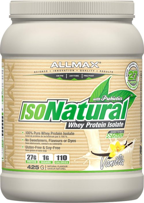 AllMax Nutrition IsoNatural - 1lbs Chocolate