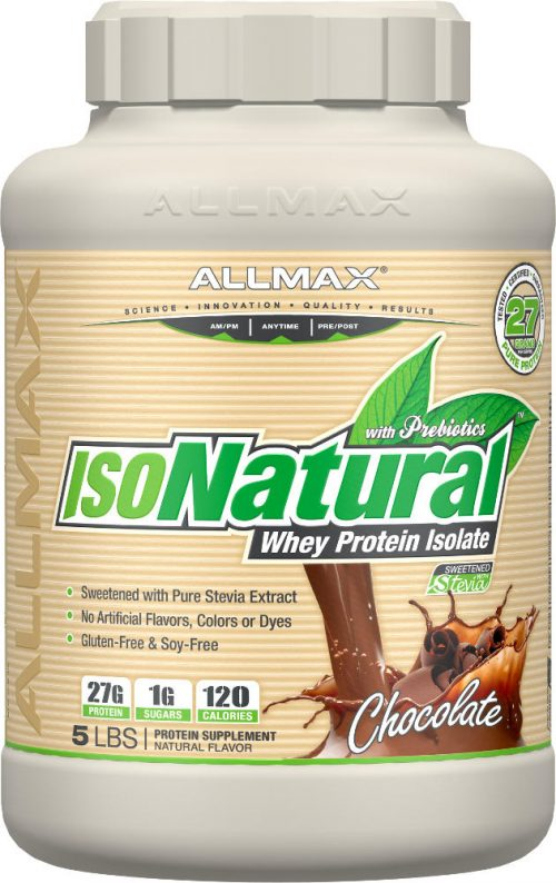AllMax Nutrition IsoNatural - 5lbs Chocolate