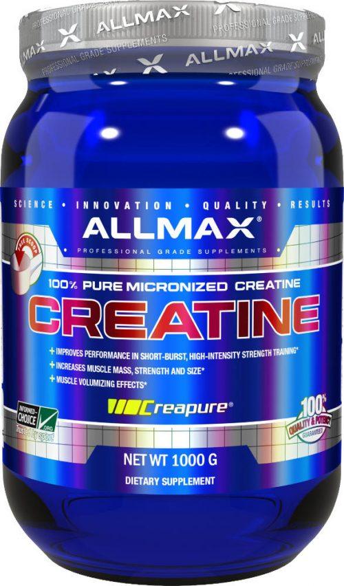 AllMax Nutrition Micronized Creatine Monohydrate - 1,000g