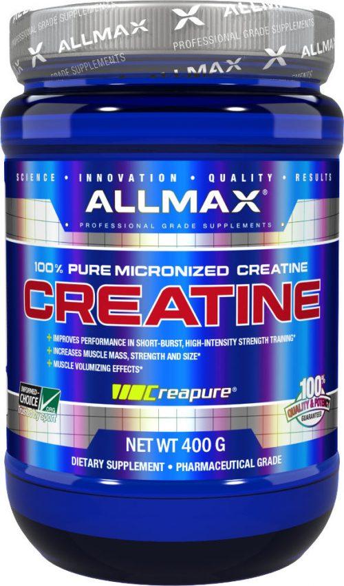AllMax Nutrition Micronized Creatine Monohydrate - 400g