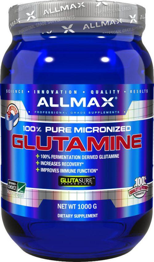 AllMax Nutrition Micronized Glutamine - 1,000g