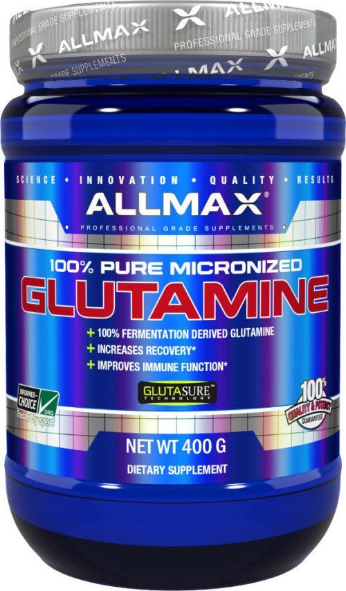 AllMax Nutrition Micronized Glutamine - 400g