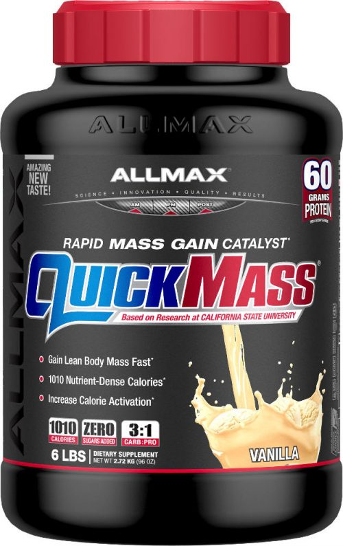 AllMax Nutrition QuickMass Loaded - 6lbs Vanilla