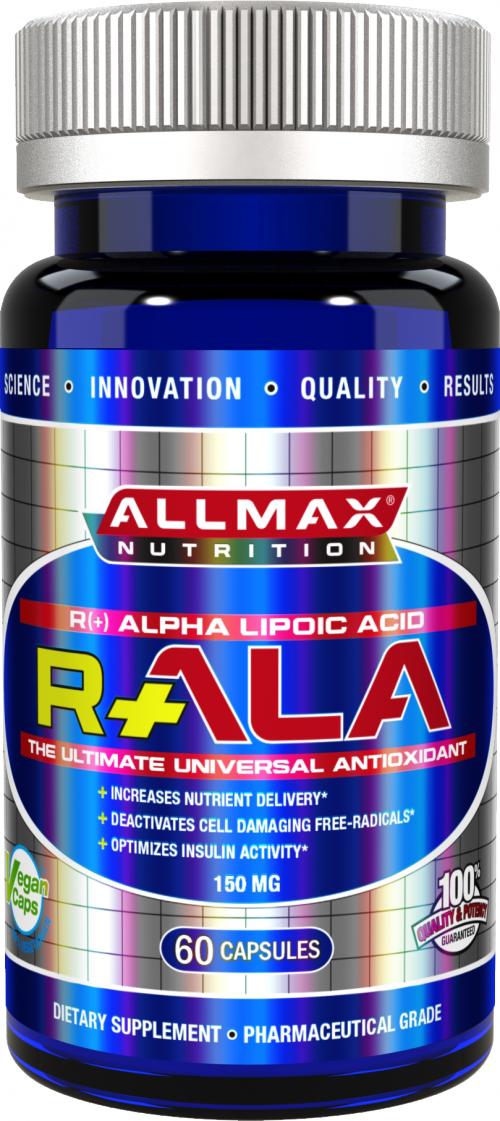 AllMax Nutrition R-ALA - 150mg/60 Capsules