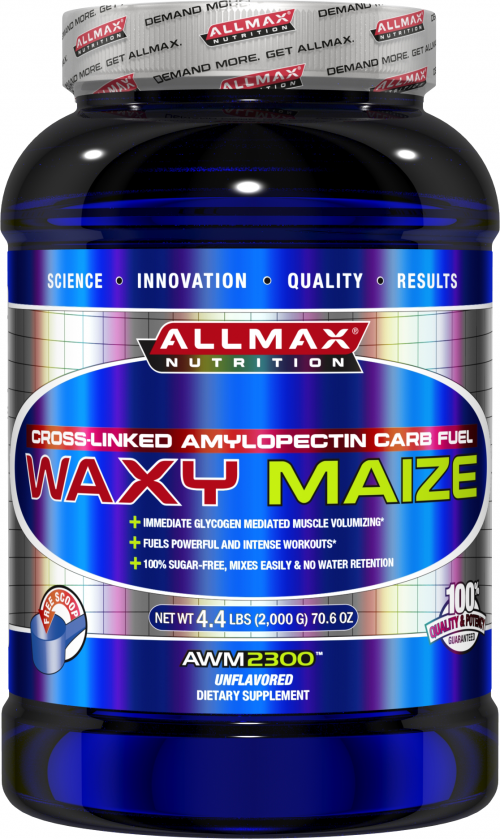 AllMax Nutrition Waxy Maize 2300 - 2000g