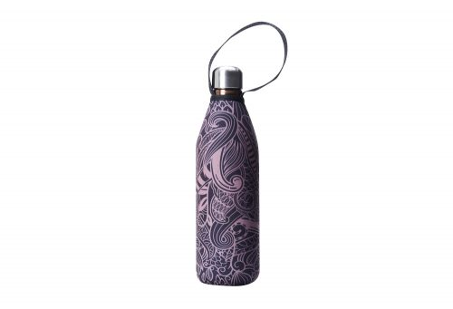 BBBYO Future Bottle+ Carry Cover - 750 ml - copper koru print/copper, 750ml