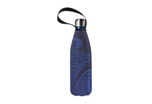 BBBYO Future Bottle+ Carry Cover - 750 ml - tsunami print/blue, 750ml