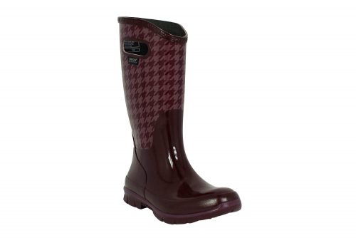 BOGS Berkley Houndstooth Boots - Women's - eggplant multi, 6
