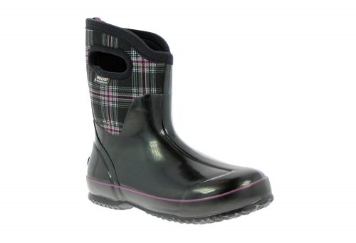 BOGS Classic Winter Plaid Mid Boots - Women's - black multi, 6
