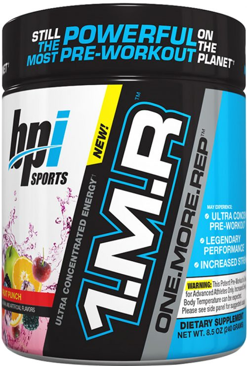 BPI Sports 1.M.R - 30 Servings Fruit Punch