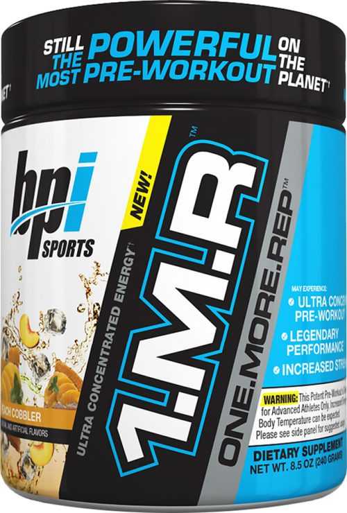 BPI Sports 1.M.R - 30 Servings Peach Cobbler