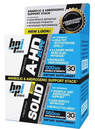 BPI Sports A-HD Elite / Solid Combo - 30 Servings