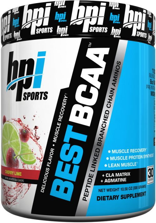 BPI Sports Best BCAA - 30 Servings Cherry Lime