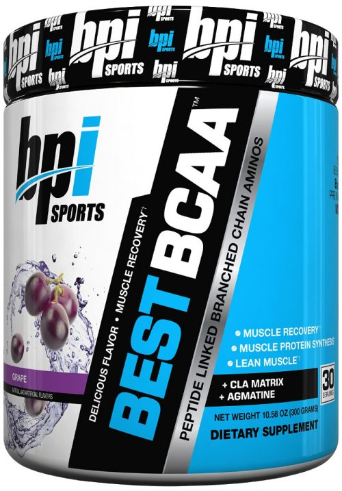 BPI Sports Best BCAA - 30 Servings Grape