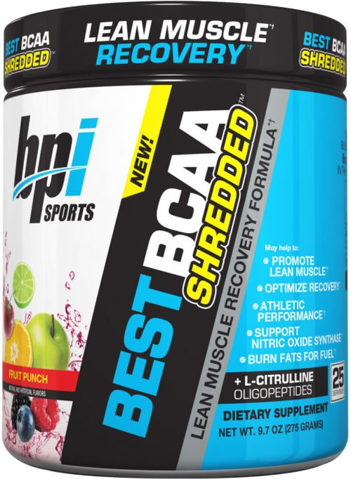 BPI Sports Best BCAA Shredded - 25 Servings Fruit Punch