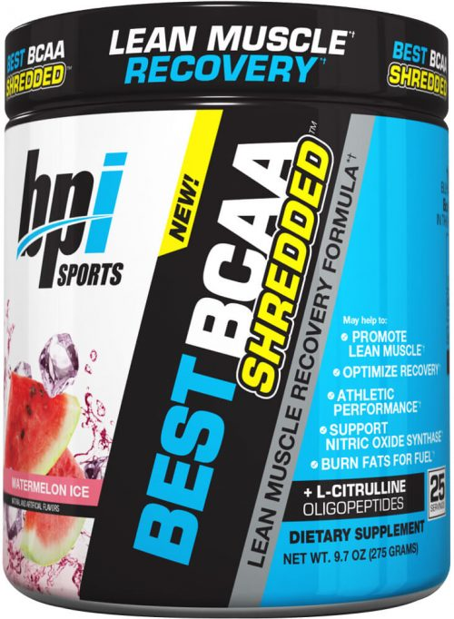 BPI Sports Best BCAA Shredded - 25 Servings Watermelon Ice