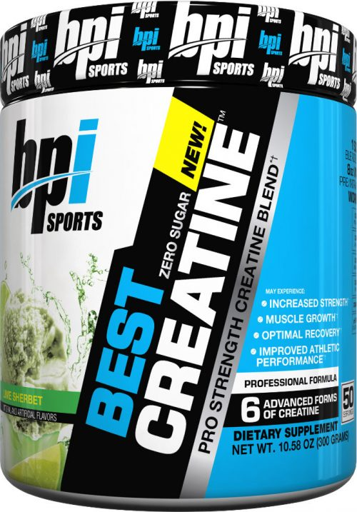 BPI Sports Best Creatine - 50 Servings Lime Sherbert